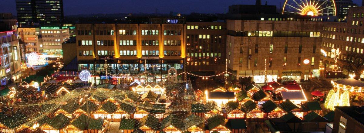 Essen Weihnachtsmarkt.Euregiotours Essen Lichtwochen Und Weihnachtsmarkt